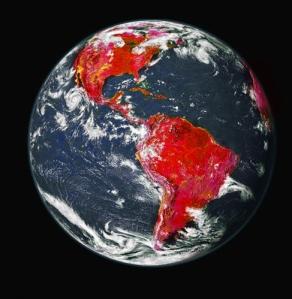 tierra en rojo