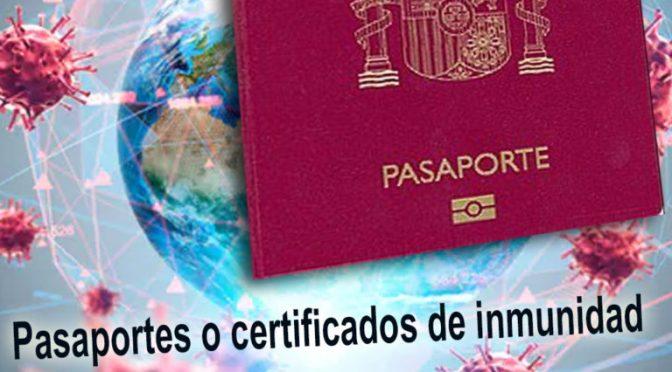 """Plan NOM Pasaporte COVID – Vacunacion Obligatoria Mundial : Solo Vacunados Podran Viajar, Trabajar, Estudiar y Tener Una """"Vida Normal"""""""